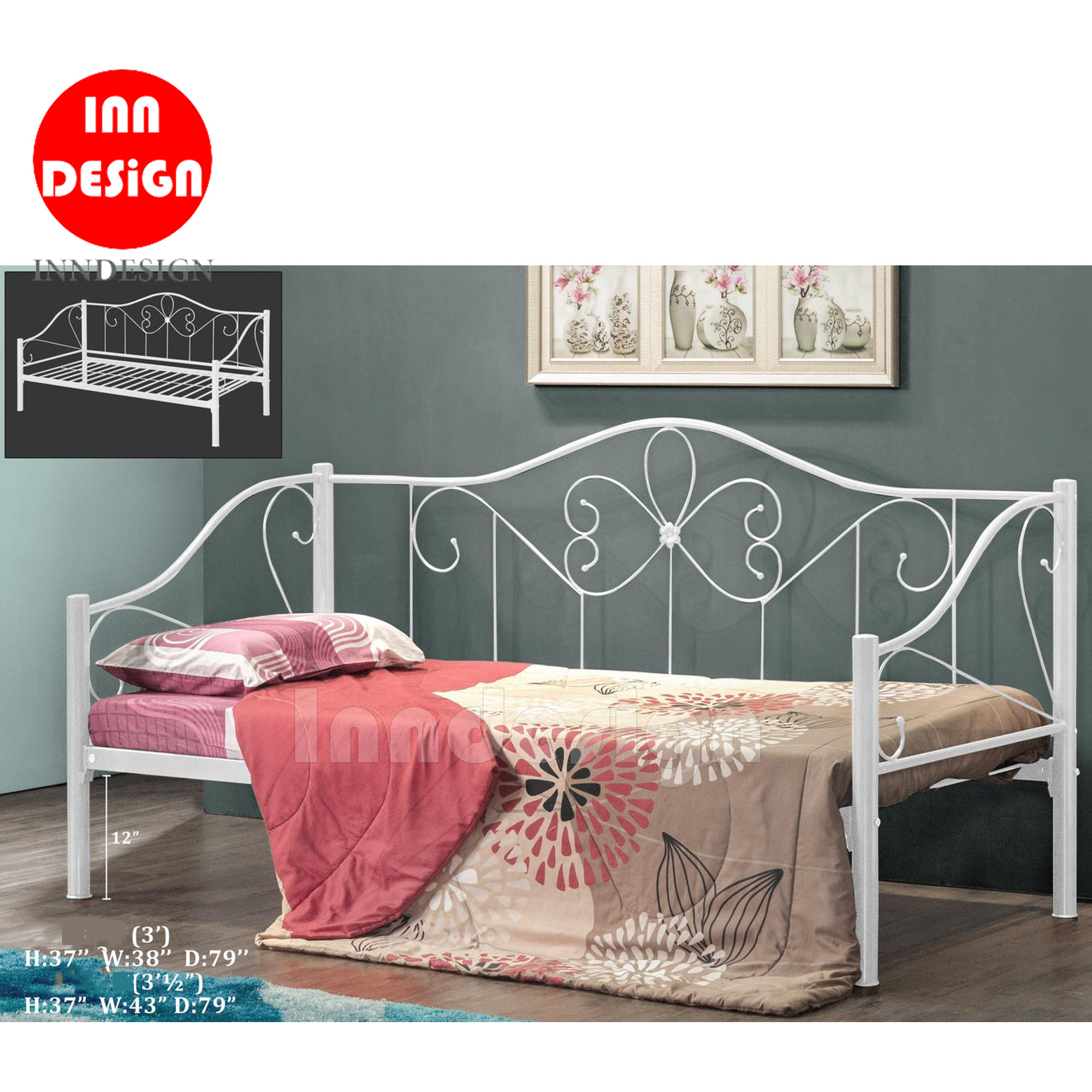 Raine Single Size Day Bed