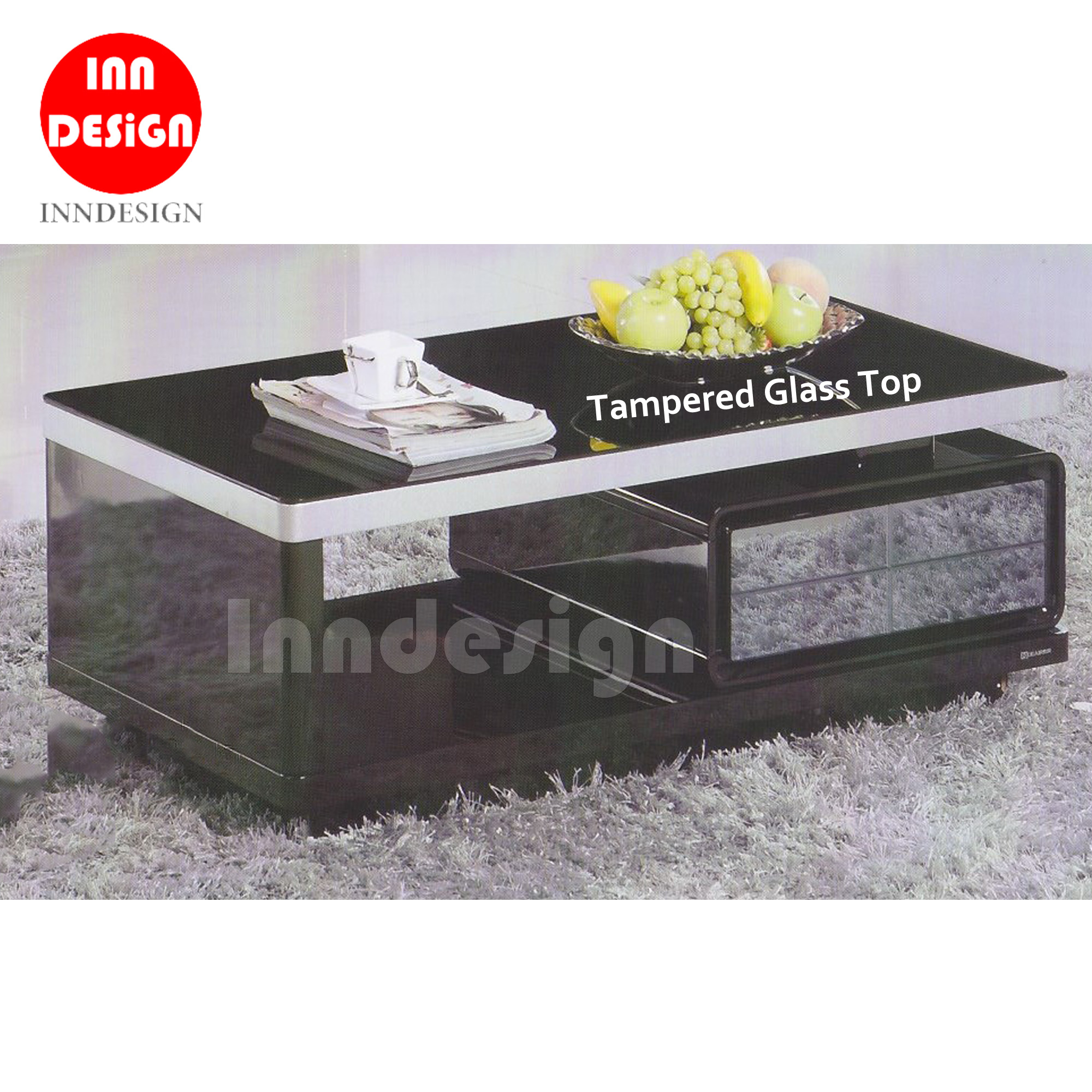 Daily Tempered Glass Coffee Table