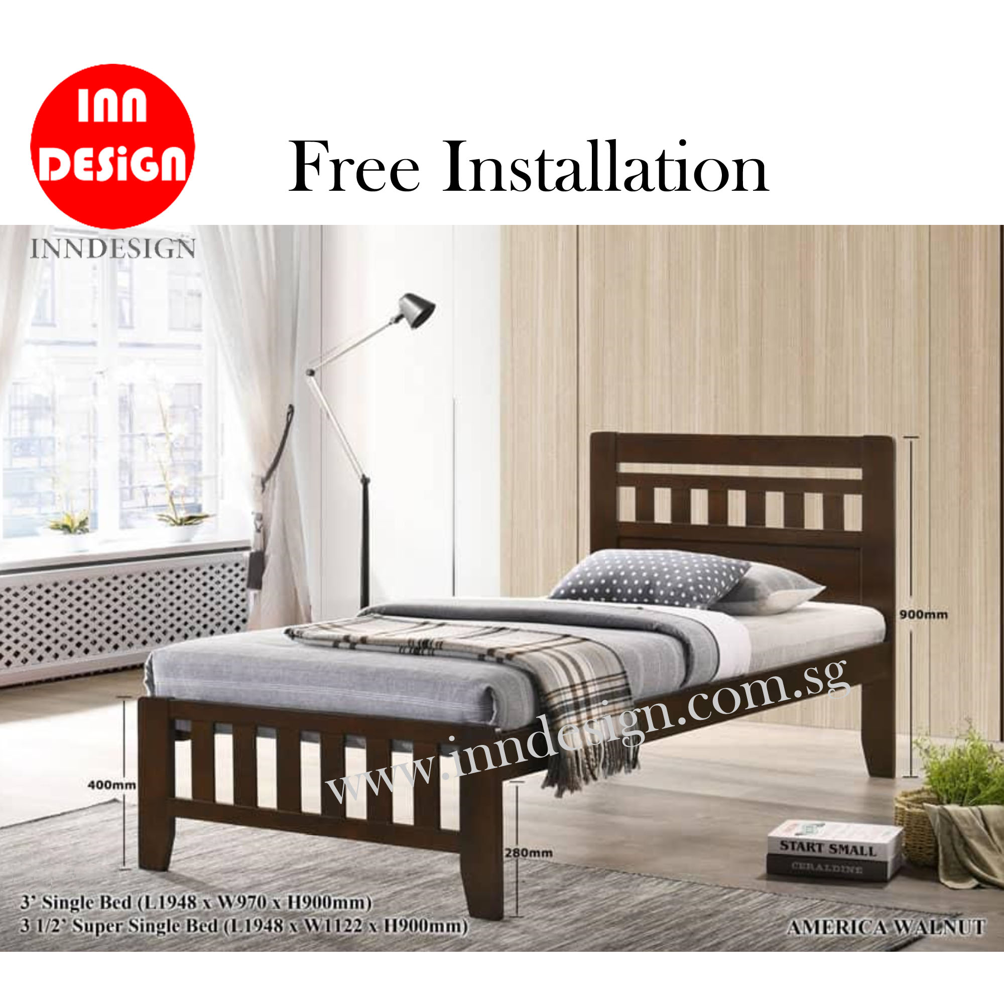 Haangee Super Single Bed