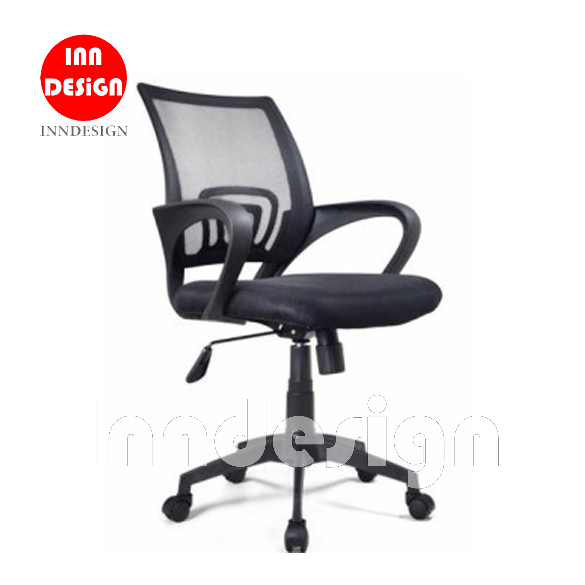 Delle Mesh Office Chair (Black)